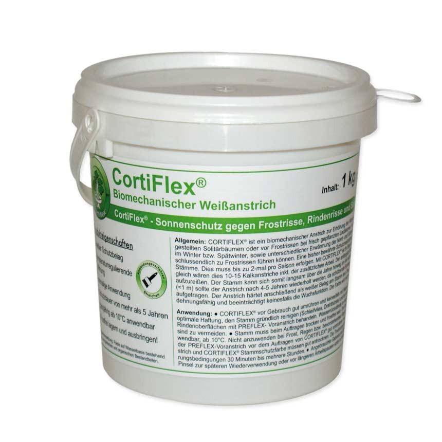 CORTIFLEX Stammschutzfarbe - 1 kg inkl. Schleifvlies