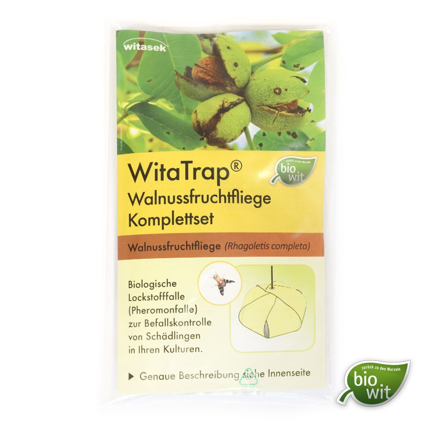 WitaTrap Walnussfruchtfliege Komplettset (Rhagoletis completa)
