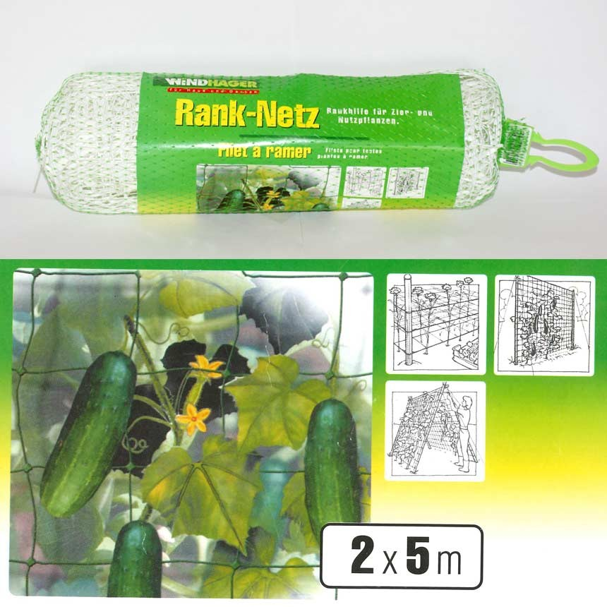 Windhager Rank-Netz 2x5 m