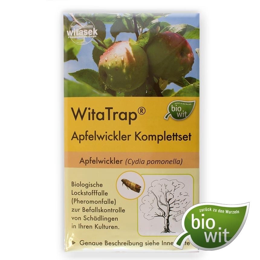 WitaTrap Apfelwickler Komplettset