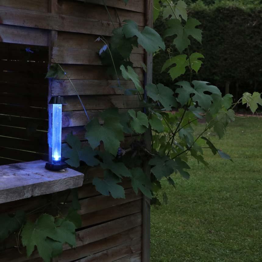 GLOstik Klebefalle mit blauem LED-Licht